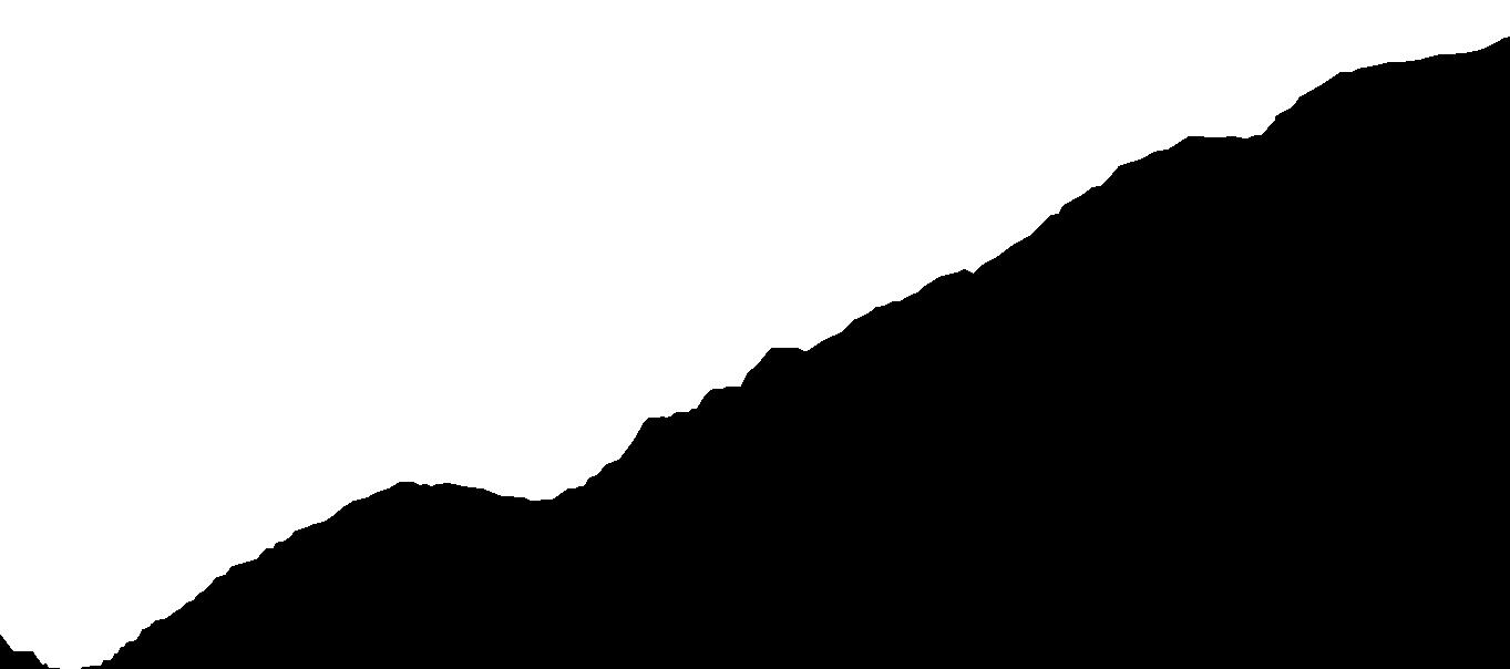 Imagen de contorno de montañas