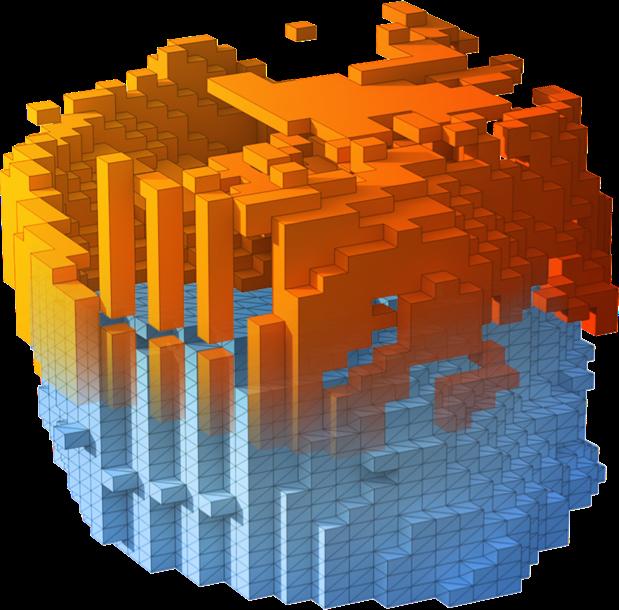 Imagen de terreno en 3d